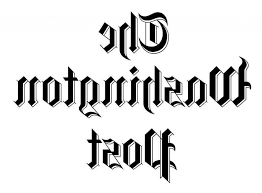 This is the logo for the Washington Post.